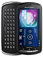 Sony Ericsson Xperia pro 3.7 inch QWERTY keyboard Android 2.3