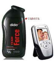 Men shower gel bathroom spy Camera
