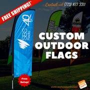 custom outdoor garden flags