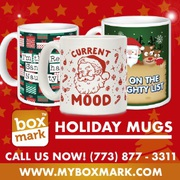 Personalized Holiday Mugs