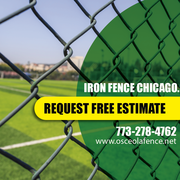 Iron railing installation in chicago